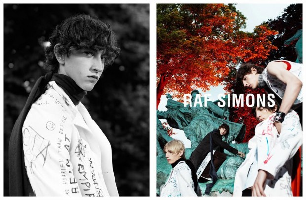 Raf Simons Beautiful Fall 2015/16 Ad Campaign