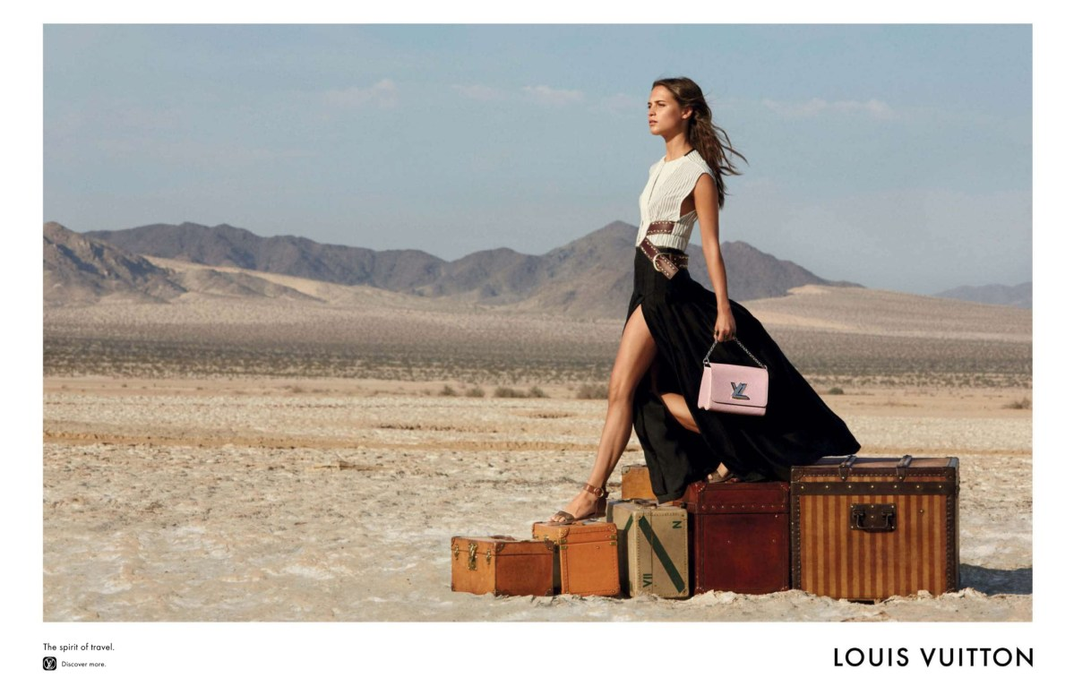 Louis Vuitton 'Spirit of Travel' Fall 15-16 Ad Campaign