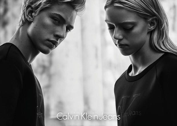 Lucky Blue Smith And Pyper America For Calvin Klein Jeans Black Series