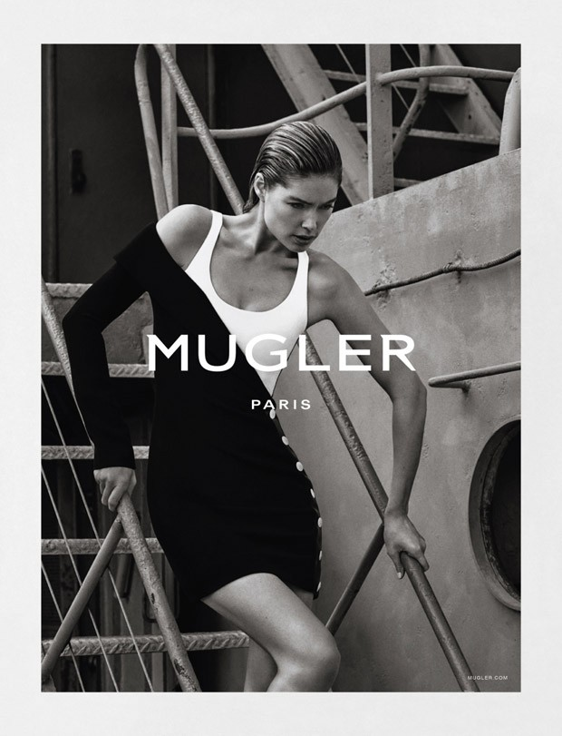 Doutzen Kroes For Mugler SS16 Ad Campaign