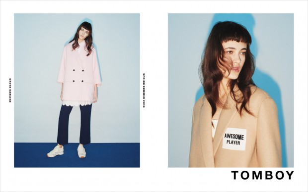 Greta Varlese For Tomboy SS16 Ad Campaign