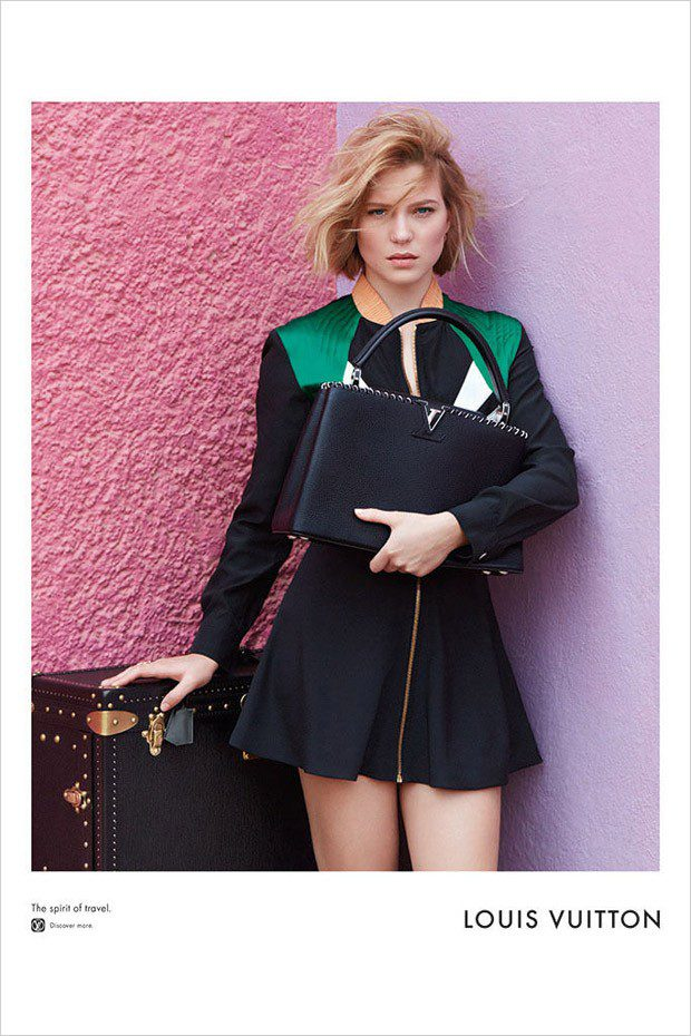 Lea Seydoux for Louis Vuitton Spirit of Travel