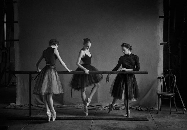 Peter Lindbergh For New York City Ballet