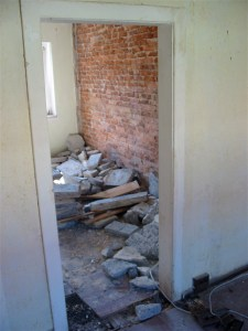 Die Wände fallen