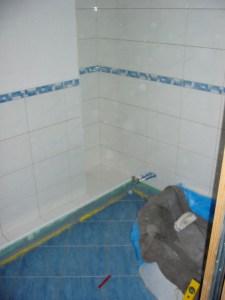 Das Bad im ersten Stock