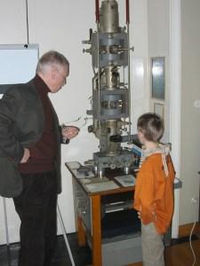 zu Besuch bei Alexander van Ardenne