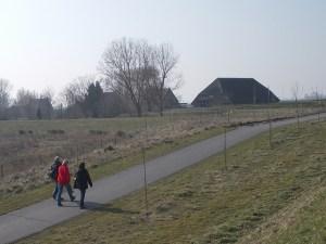 Die letzte Häuser von Tiengementen