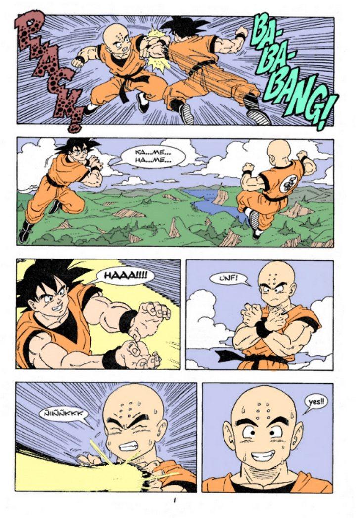 goku fucks gohan comics