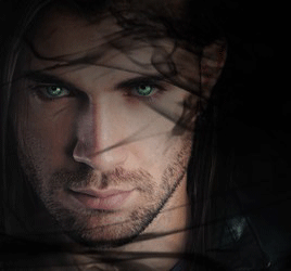 Headshot of the Paragon vampire god / lord Michael Bayne