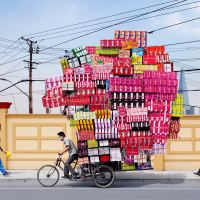 Tall Stacks, Tiny Cart - A Look Into Shanghai's Expansion