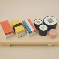 Wooden Sushi Blocks for Children