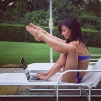 Hilaria Baldwin's 25 Hottest Yoga Posture of the Day (NSFW)