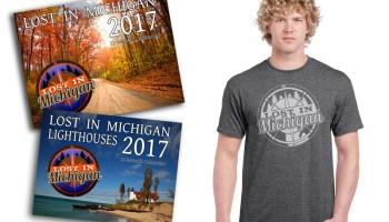 all lost in michigan calendars and shirts are on sale