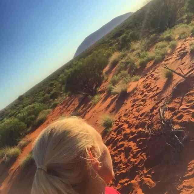 Preparing for the Big Uluru Trek in August For thehellip
