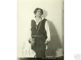 early photo as Fidelio