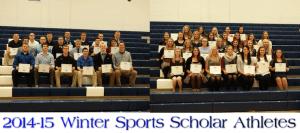Louisville Leopards Winter Sports 2014-15 Award Winners
