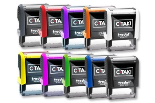 10 coloris tampon c-taki
