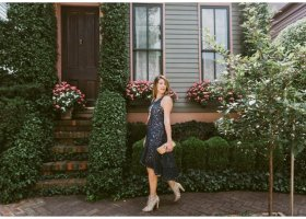 What to Wear to Fall Weddings * Vienne Dress by Maeve_1243