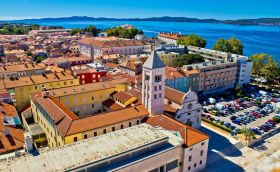 credits. Zadar, photo by xbrchx/can stock photo