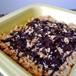 Dark Chocolate, Salted, Caramel Rice Krispies