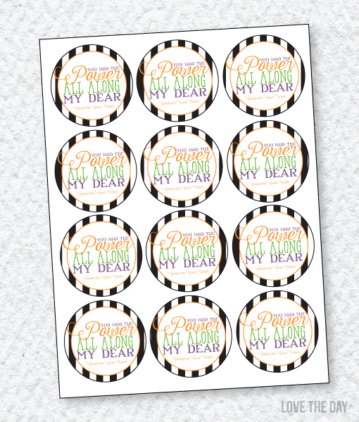 'I Scream' Halloween Party:: Favor Tags