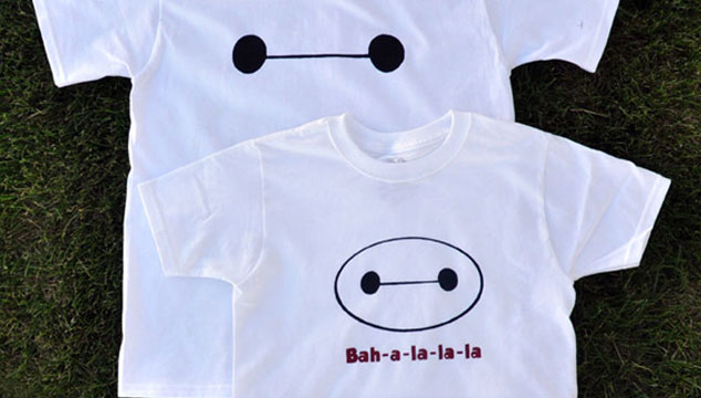 Easy DIY Baymax Shirt