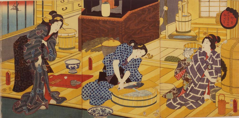 the ukiyo e wood block print during the edo period essay Produced in their many thousands and hugely popular during the edo period (1615 – 1868), these colourful woodblock prints, known as ukiyo-e, depicted scenes from everyday japan ukiyo-e literally means 'pictures of the floating world.