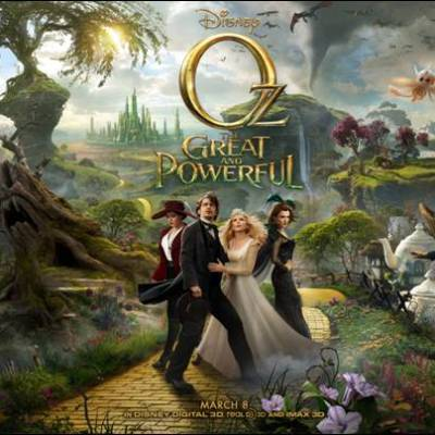 Trailer for OZ THE GREAT AND POWERFUL by Disney