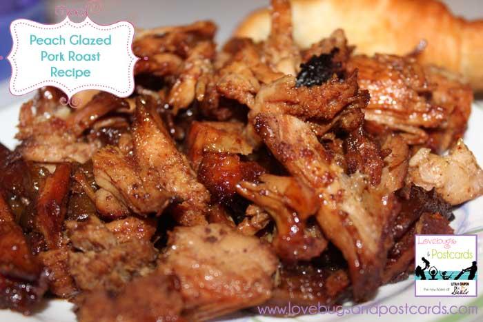 Peach Glazed Pork Roast Recipe