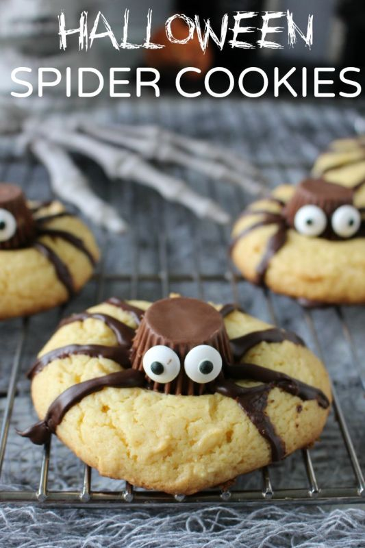 Spider Cookies (CREDIT)