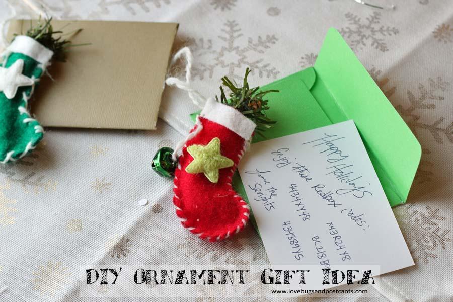DIY Ornament Gift Idea