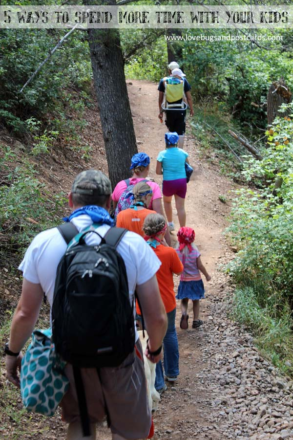 5 ways to spend more time with your kids