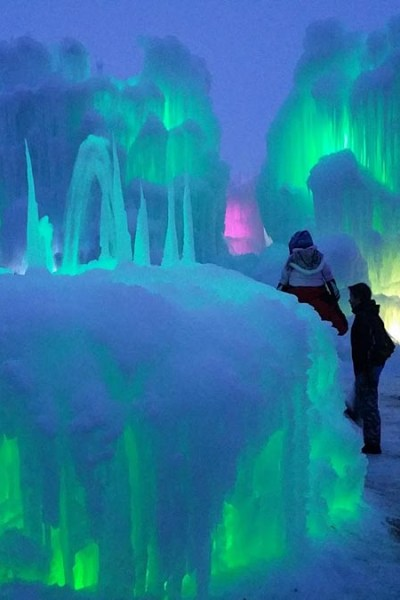 Midway Ice Castles Photos and Review