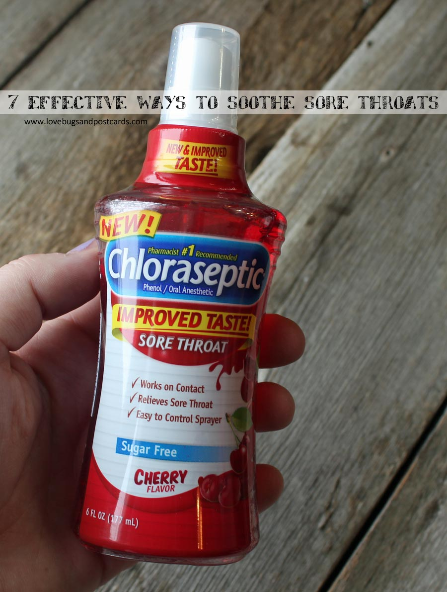 7 effective ways to soothe sore throats