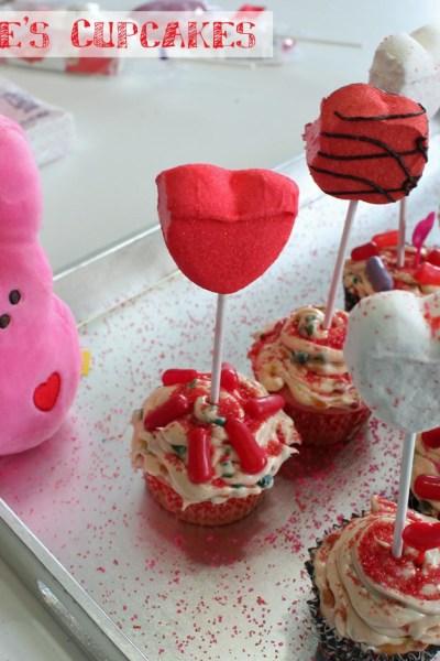 PEEPS® Valentine's Cupcakes