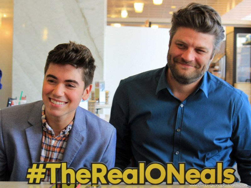Noah and Jay from The Real O'Neals