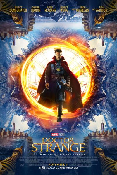 Marvel's Doctor Strange New Poster and Trailer #DoctorStrange