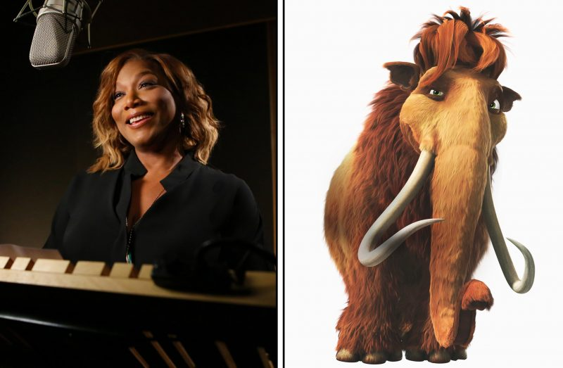Queen Latifah as the voice of Ellie