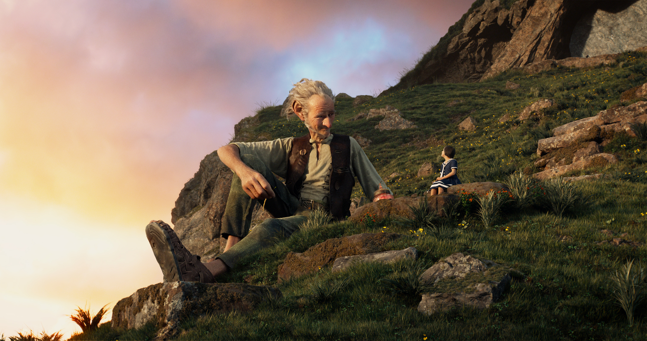 Disney's THE BFG is the imaginative story of a young girl named Sophie (Ruby Barnhill) and the Big Friendly Giant (Oscar (TM) winner Mark Rylance) who introduces her to the wonders and perils of Giant Country   Directed by Steven Spielberg, the film is based on the beloved book by Roald Dahl.