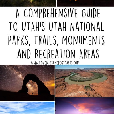 Utah National Parks, Trails, Monuments and Recreation Areas