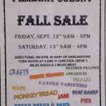 Fall Sale в Pembina Colony