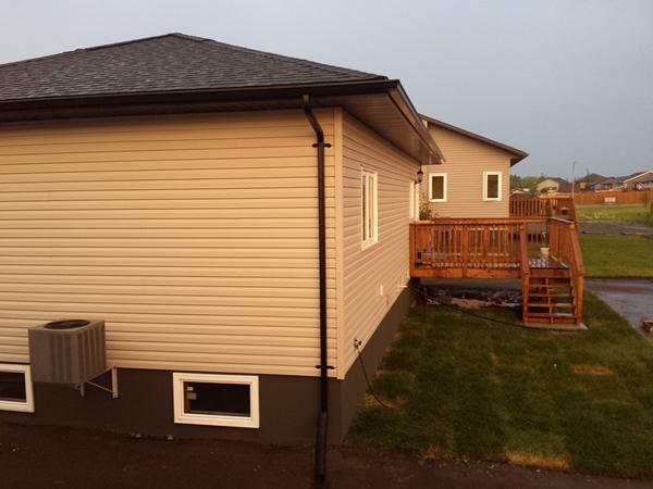Вид на дом со стороны соседей