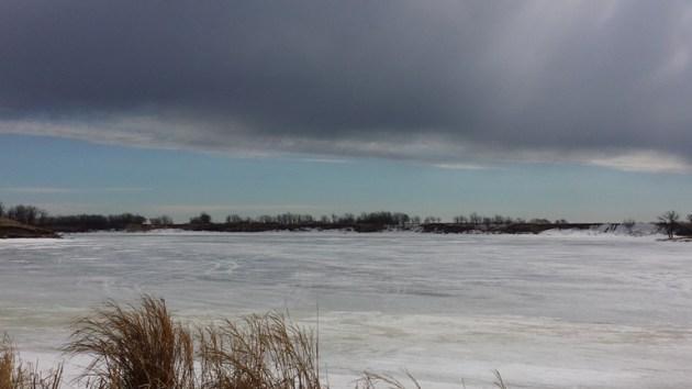 Minnevasta Lake Trail - winter time
