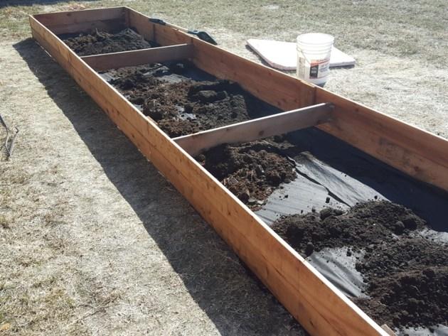 Garden box - step 3