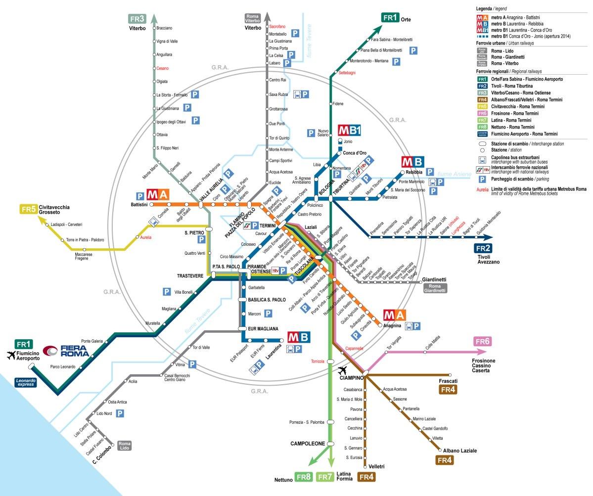 Jak i czym poruszać się po Rzymie? [trasy, bilety, aplikacje]