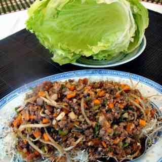 Yuk Sung, Chinese Lettuce Wraps