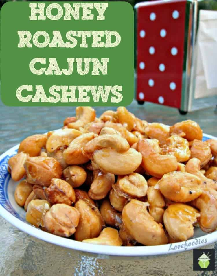 Honey Roasted Cajun Cashews. Oh my! These are so addictive! Easy to ...