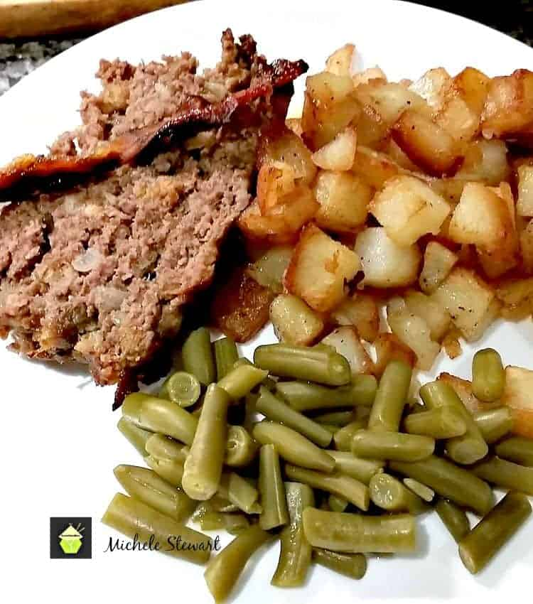 Easy Meatloaf with BBQ Sauce Recipe. A lovely recipe, great for ...