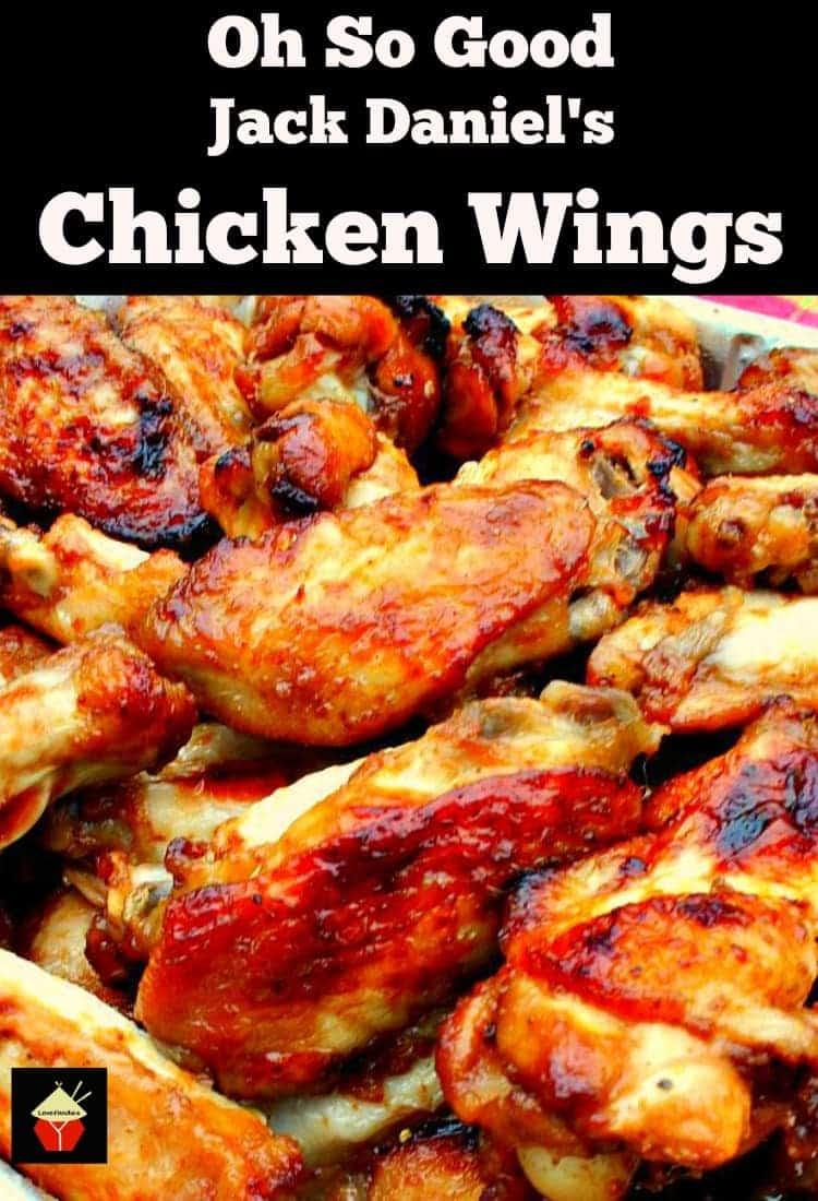 Oh So Good Jack Daniel's Chicken Wings – Lovefoodies