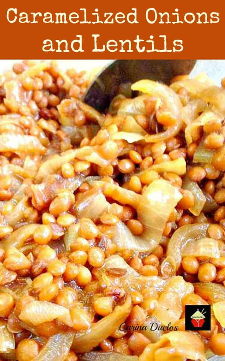 Caramelized Onions and Lentils – Lovefoodies